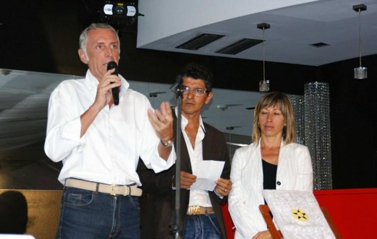Presentazione Associazione all'84° Giro della Romagna - 2009