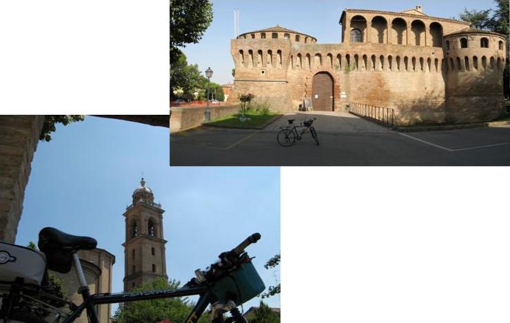 Biking tour around Medieval towns