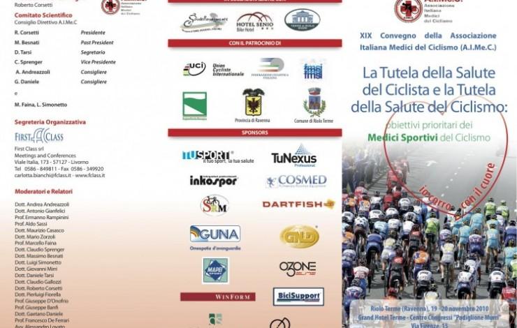 Convegno dell'Associazione Italiana Medici del Ciclismo