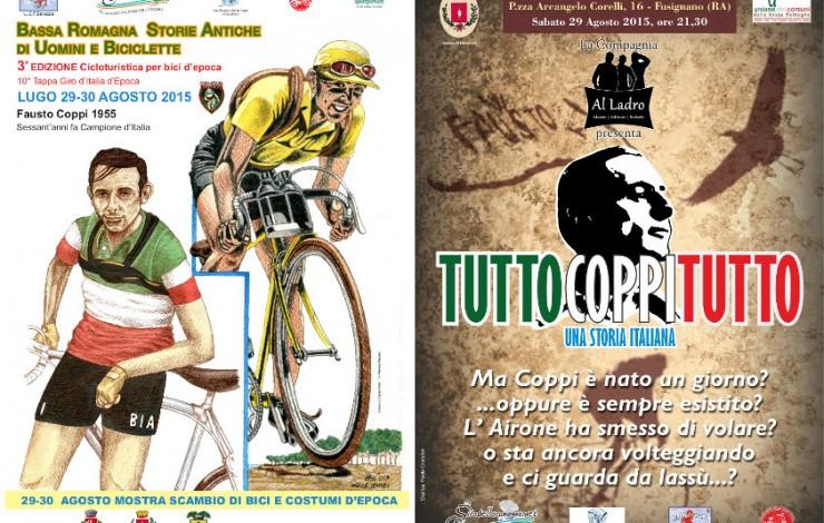 """""""Bassa Romagna Storie Antiche di Uomini e Biciclette"""" 30 Agosto 2015"""