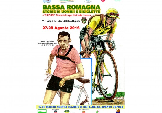 Bassa Romagna - Storie di Uomini e di Biciclette - 27/28 Agosto 2016