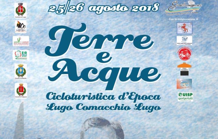 """Terre e Acque"" - cicloturistica d'epoca - 25 e 26 agosto 2018"